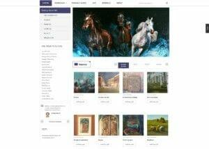 izrada sajta za galeriju slika