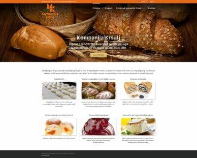 izrada sajta za kompaniju Krsulj