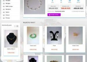izrada online prodavnice za nakit