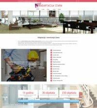 izrada sajta za adaptaciju stanova