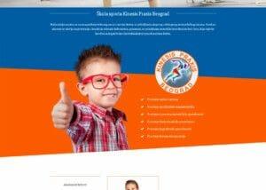 izrada sajta za skolu sporta