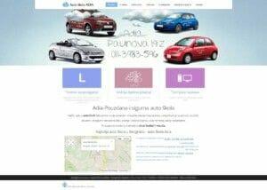 izrada sajta za auto skolu u Beogradu