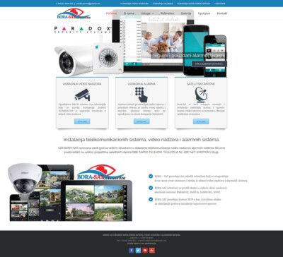 sajt za firmu za ugradnju alarma i satelitskih antena