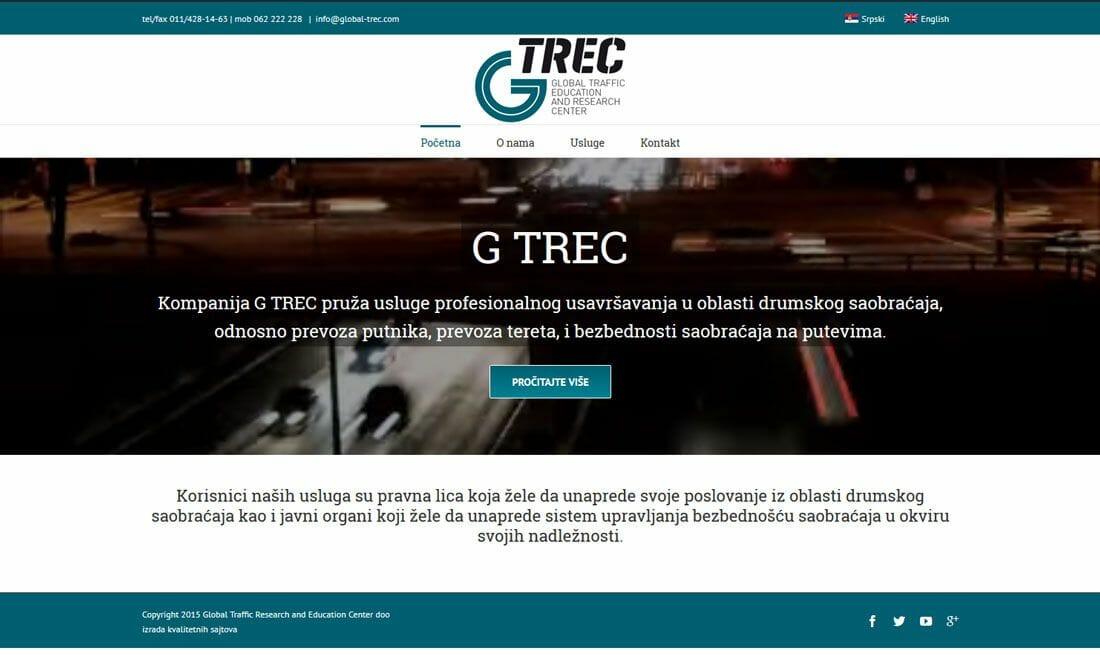 izrada sajta za agenciju za saobracaj