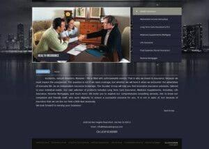 izrada sajta za osiguranje
