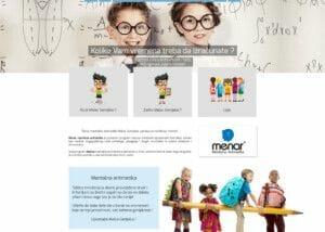 izrada sajta za skolu mentalne aritmetike malac genijalac