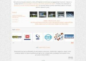 izrada sajta za prodaju auto delova