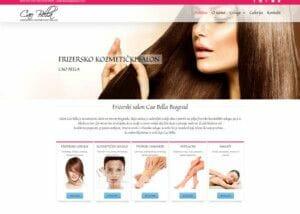 izrada sajta za frizerski salon