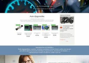 izrada sajta za auto dijagnostiku i online prodaju