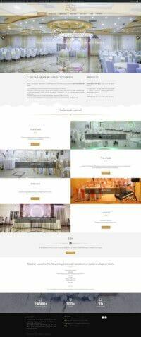 izrada sajta za restorane za svadbe i svecanosti