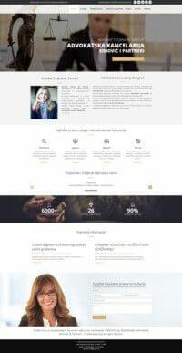 izrada sajta za advokatsku kancelariju