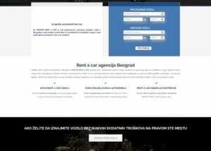 izrada sajta za rentacar