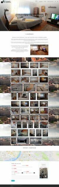 izrada sajta za izdavanje apartmana