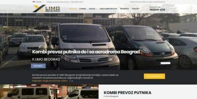 izrada sajta za prevoz putnika