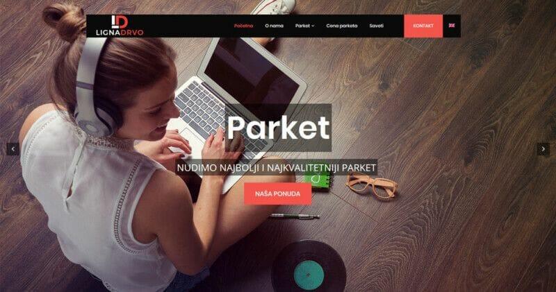 izrada sajta za prodaju parketa