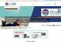 izrada sajta za klimabgsolutions online prodaju klima