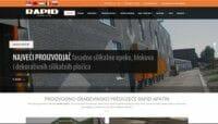 izrada web sajta za rapid apatin