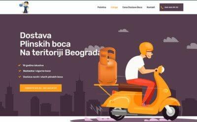 dostava plinskih boca Beograd
