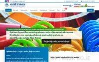 izrada sajta za optimex boje