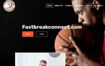 izrada sajta za basket trenera