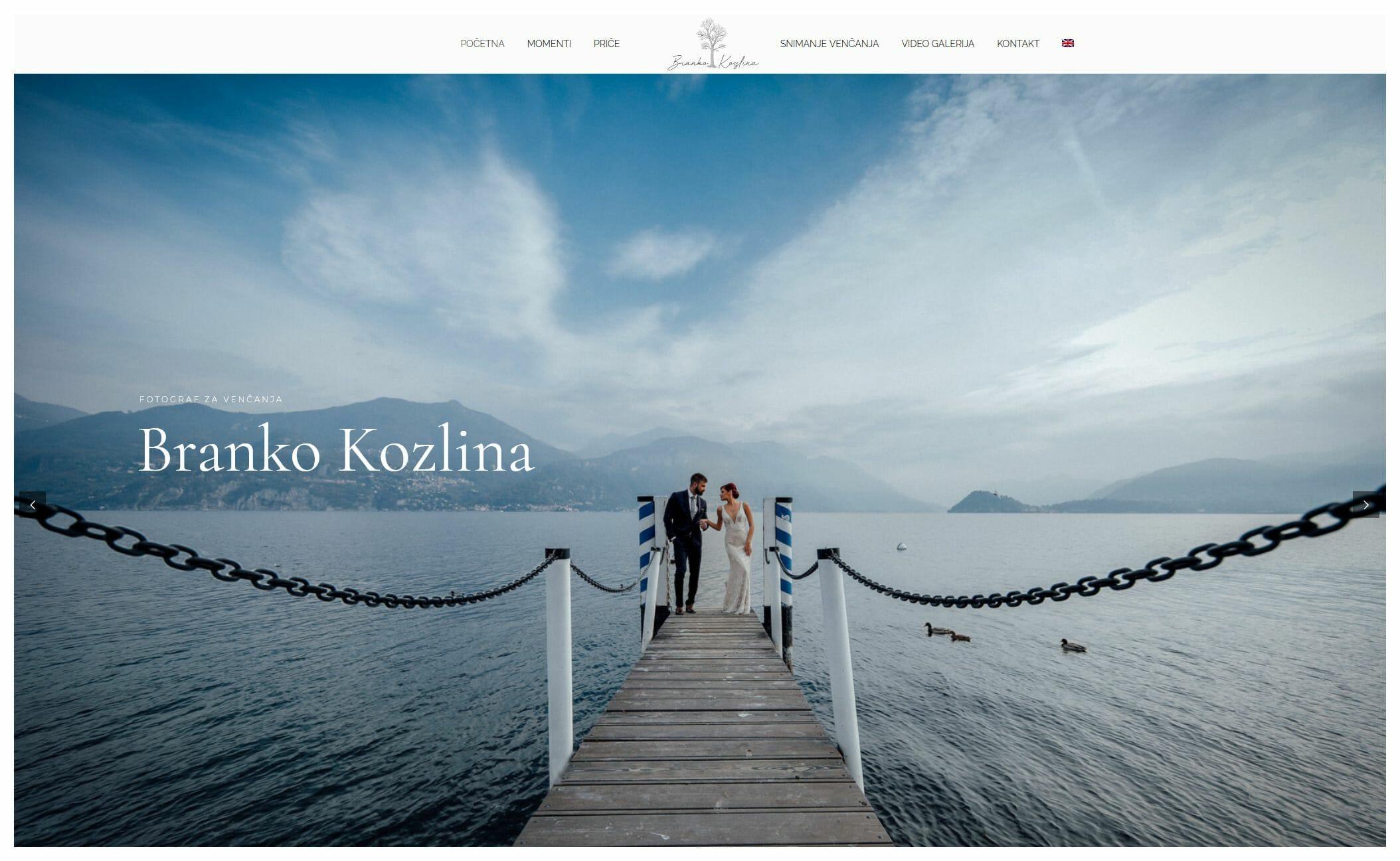 izrada sajta za fotografa