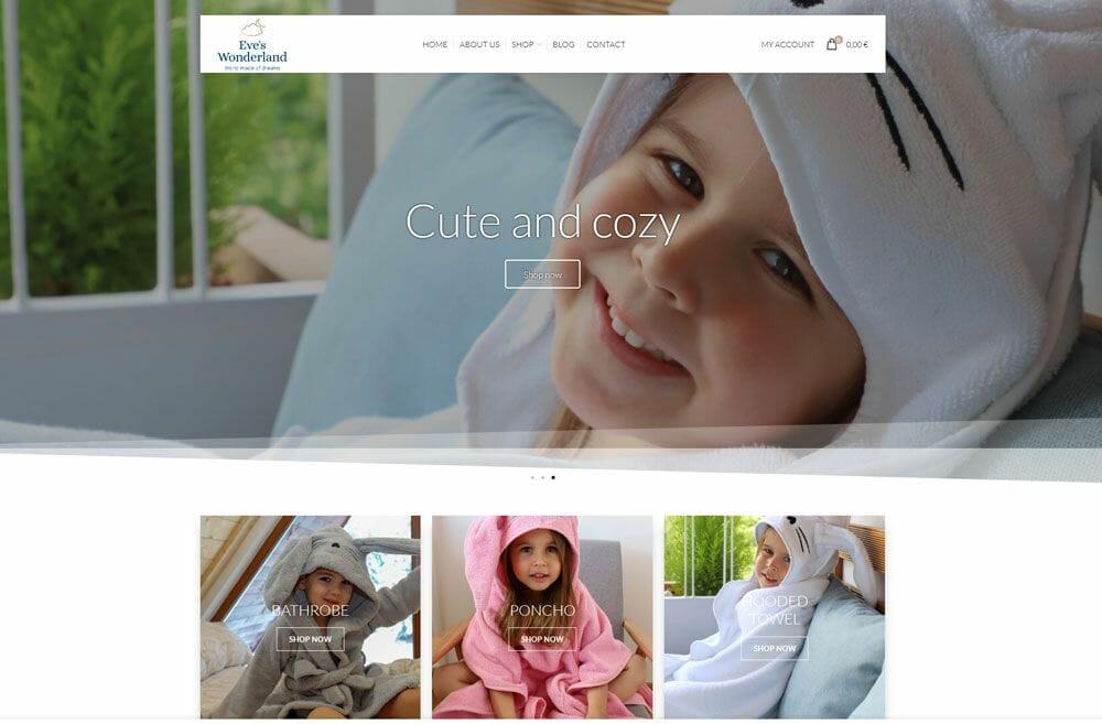 eves wonderlad online shop